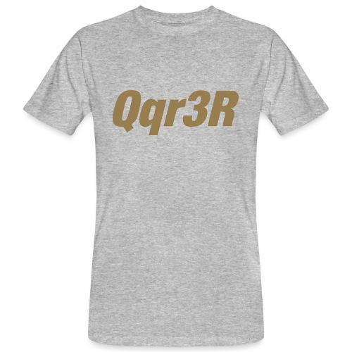 Qqr3R - Männer Bio-T-Shirt