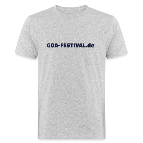 Goa Festival Produkte - Männer Bio-T-Shirt