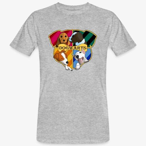 Dogwarts Logo - Men's Organic T-Shirt
