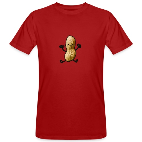 Pinda logo - Mannen Bio-T-shirt