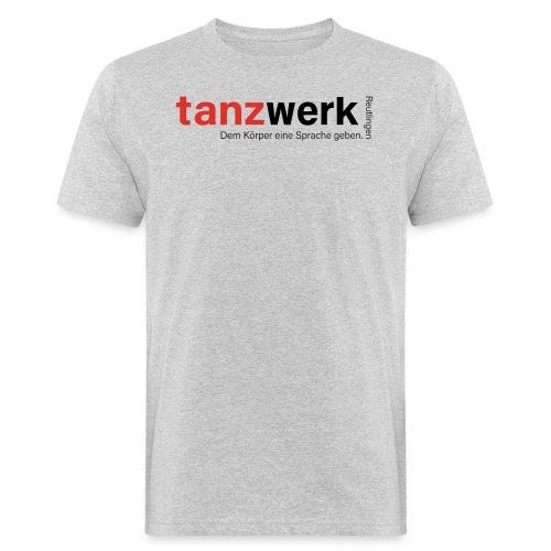 Tanzwerk - Premium Edition schwarz - Männer Bio-T-Shirt