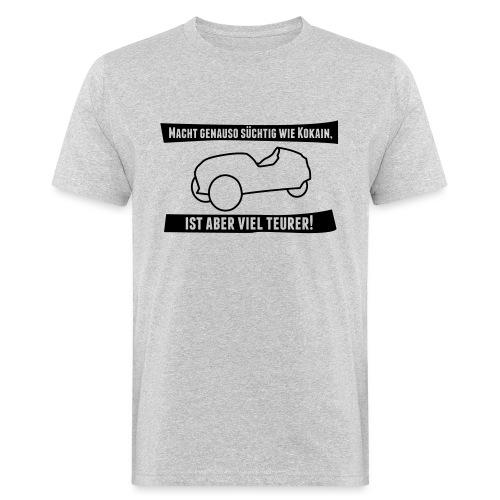 Velayo mit Spruch - Männer Bio-T-Shirt