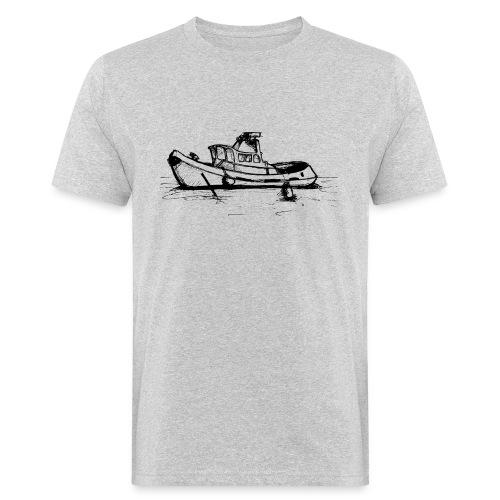 Uk Thames Boat - Men's Organic T-Shirt