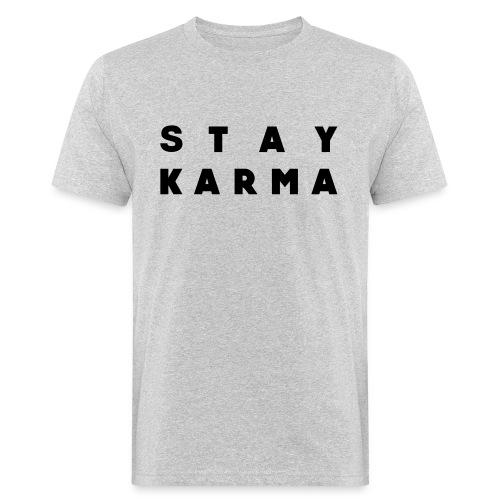 Stay Karma - T-shirt ecologica da uomo