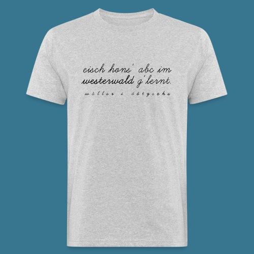I-Dötzsche - Männer Bio-T-Shirt