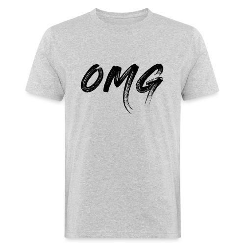 OMG, musta - Miesten luonnonmukainen t-paita
