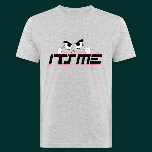 Faccia arrabbiata - T-shirt ecologica da uomo