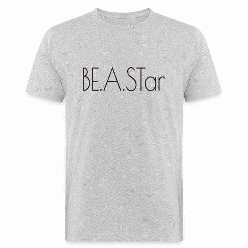 BEASTar text dark - Männer Bio-T-Shirt