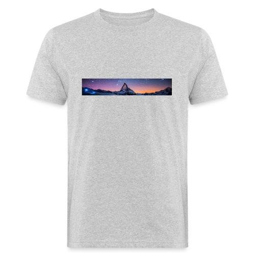 Mountain sky - Männer Bio-T-Shirt