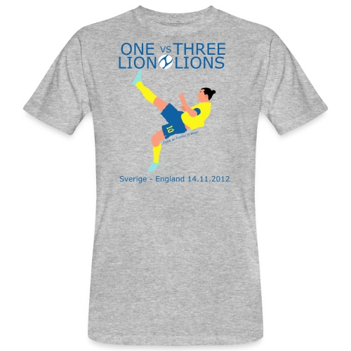 One Lion vs Three Lions - Organic mænd