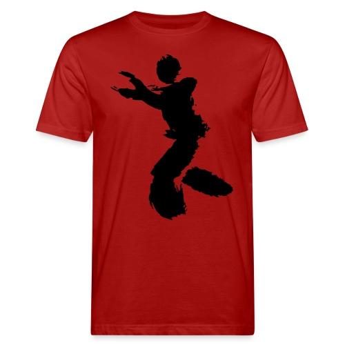 Wing Chun / Kung Fu Tusche Figur VEKTOR - Men's Organic T-Shirt
