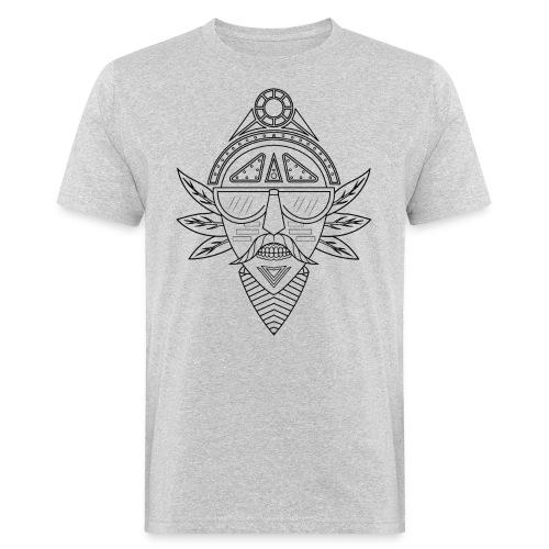 noir png - T-shirt bio Homme
