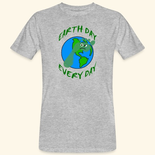 Earth Day Every Day - Männer Bio-T-Shirt