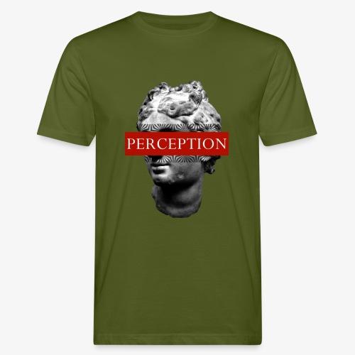TETE GRECQ RED - PERCEPTION CLOTHING - T-shirt bio Homme