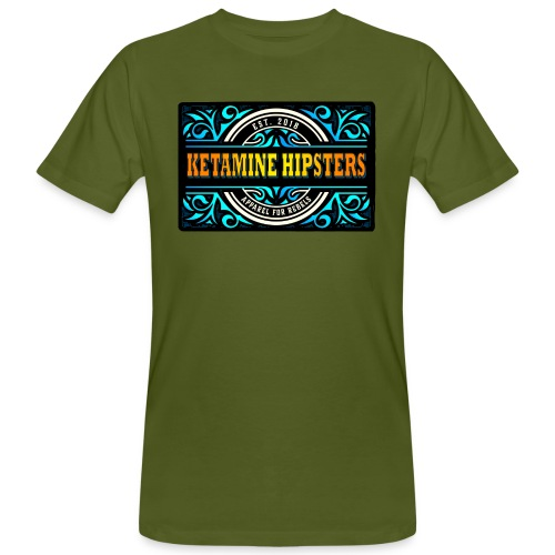Black Vintage - KETAMINE HIPSTERS Apparel - Men's Organic T-Shirt