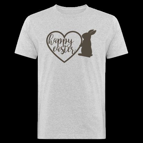 Happy Easter - Männer Bio-T-Shirt
