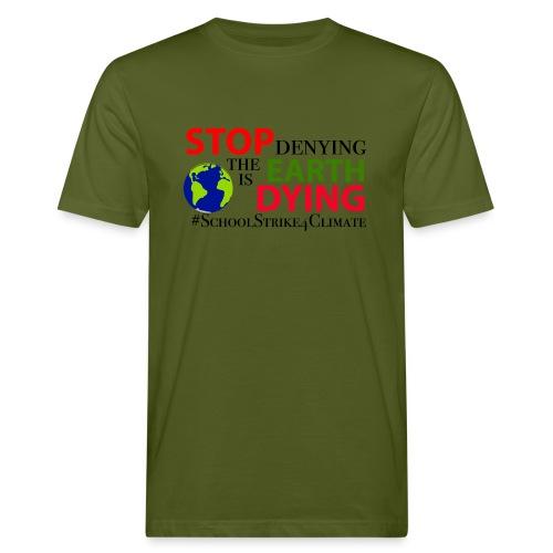 School Strike 4 Climate - Mannen Bio-T-shirt