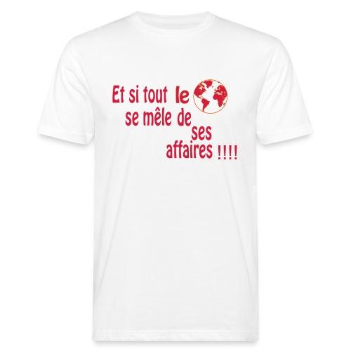 BNT création - T-shirt bio Homme