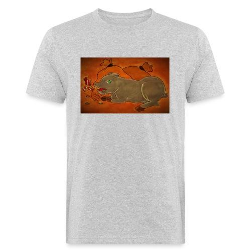 Ahneus - Miesten luonnonmukainen t-paita