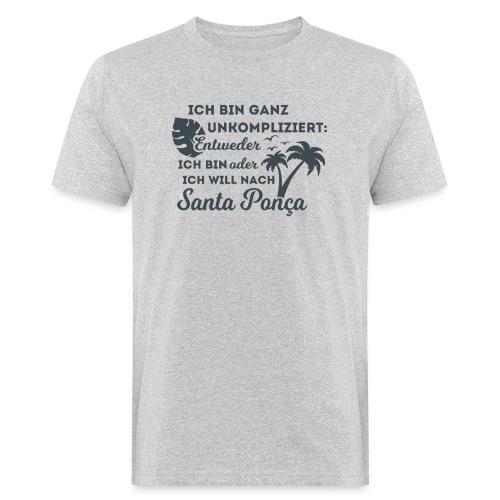 Santa Ponça auf Mallorca - TOP Urlaubsort - Malle - Männer Bio-T-Shirt