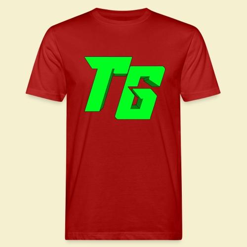 TristanGames logo merchandise [GROOT LOGO] - Mannen Bio-T-shirt