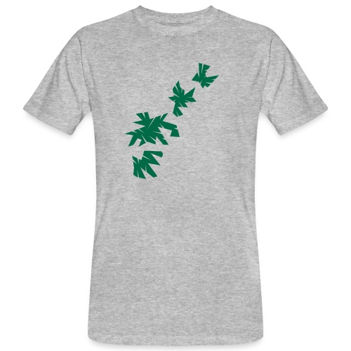 Green Leaves - Männer Bio-T-Shirt