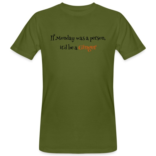 ginger1 - Miesten luonnonmukainen t-paita