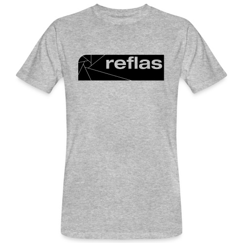 Reflas Clothing Black/Gray - T-shirt ecologica da uomo