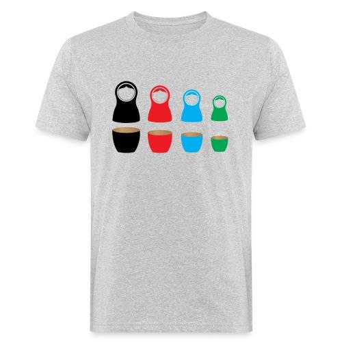 Matrushka - Mannen Bio-T-shirt