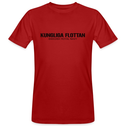 Kungliga Flottan - Swedish Royal Navy - Ekologisk T-shirt herr