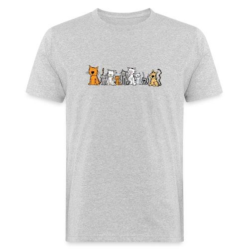 Cats & Cats - Mannen Bio-T-shirt