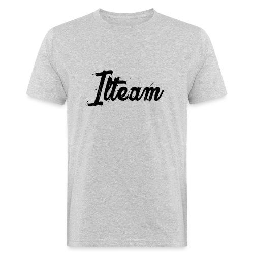 Ilteam Black and White - T-shirt bio Homme