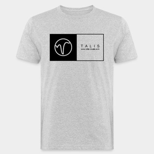 TALIS (2Quadrate) - Männer Bio-T-Shirt