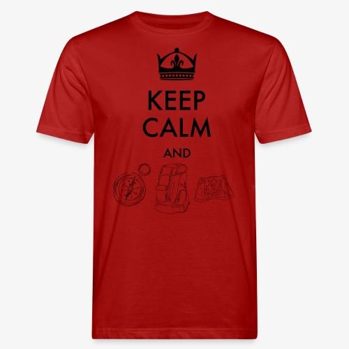 keepcalmandexplore - Men's Organic T-Shirt