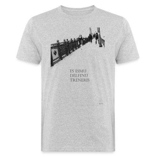 Delphintrainer - Männer Bio-T-Shirt