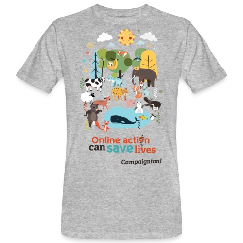 Save lives - Men's Organic T-Shirt