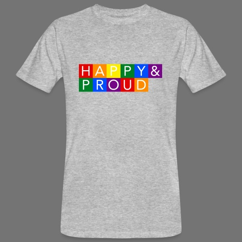 Happy Proud - Ekologisk T-shirt herr
