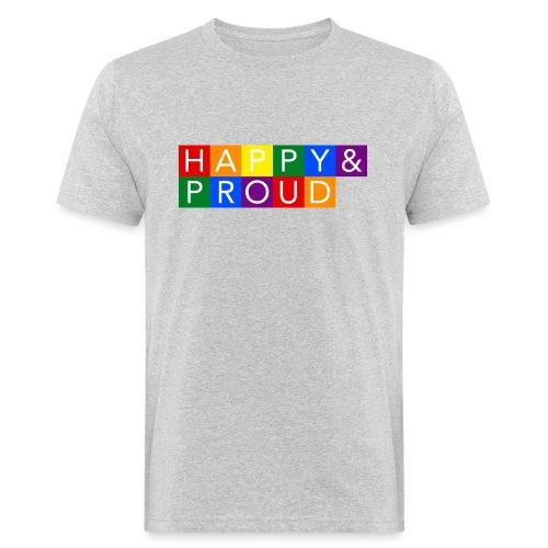 Happy Proud - Ekologisk T-shirt herr