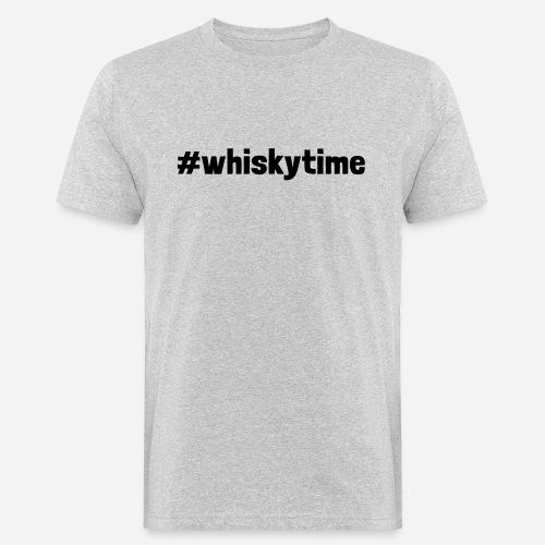 whiskytime | Whisky Time - Männer Bio-T-Shirt