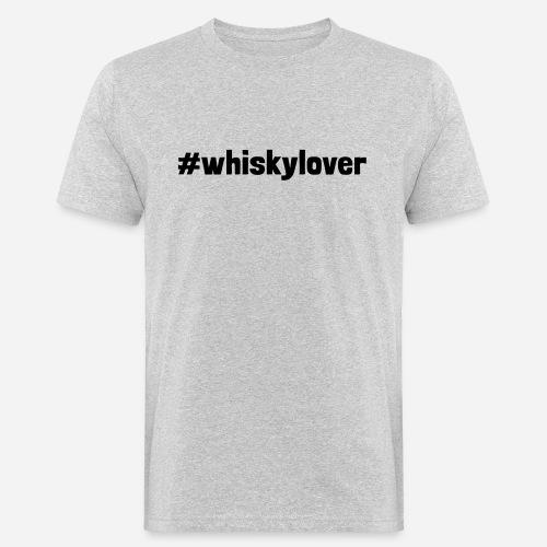 #whiskylover   Whisky Lover - Männer Bio-T-Shirt
