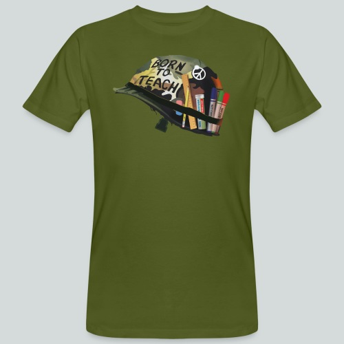 Born to teach - AAS - T-shirt bio Homme