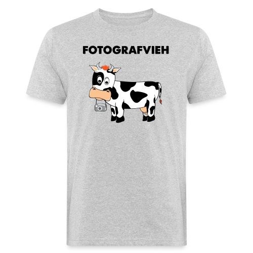 Fotografvieh - Männer Bio-T-Shirt