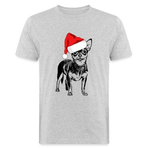 Weihnachten Chihuahua Hunde Geschenk Geschenkidee - Männer Bio-T-Shirt