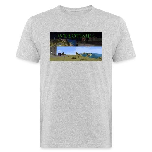 Velotime! - Ekologisk T-shirt herr