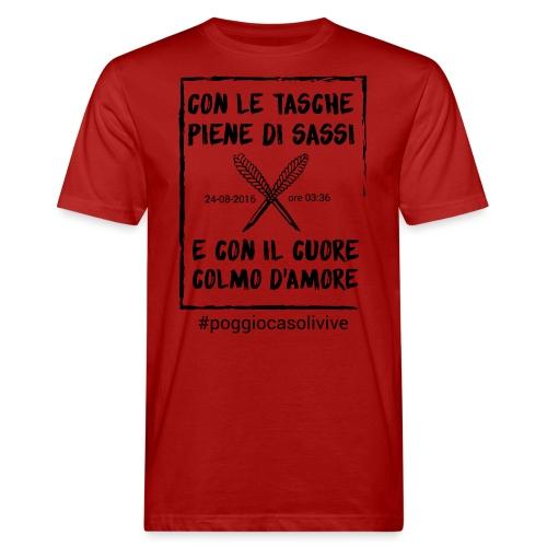 patch cuoresassi - T-shirt ecologica da uomo