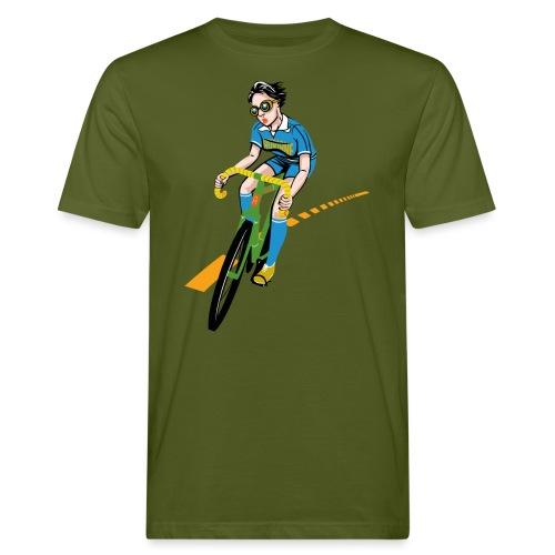The Bicycle Girl - Männer Bio-T-Shirt