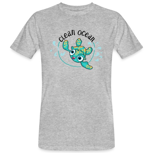 Clean Ocean - Men's Organic T-Shirt