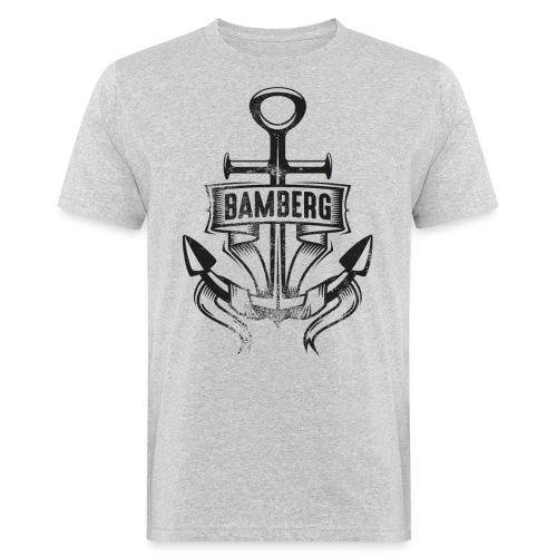 Anker w png - Männer Bio-T-Shirt