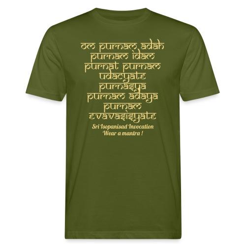 Om Purnamadah - T-shirt ecologica da uomo