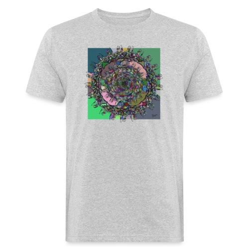 WorldAround 150220 ds. A - Men's Organic T-Shirt
